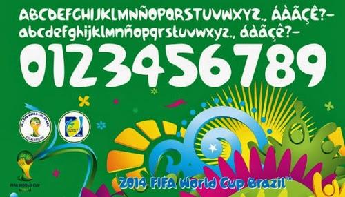 Letters Brasil 2014