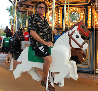 Yeah, That's my Dad, riding a Lego Horse.