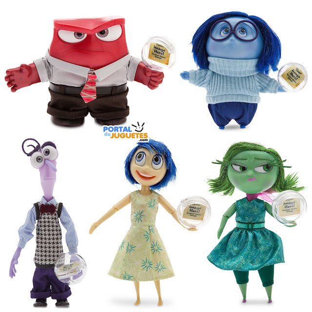 muñecas y muñecos del reves inside out disney store