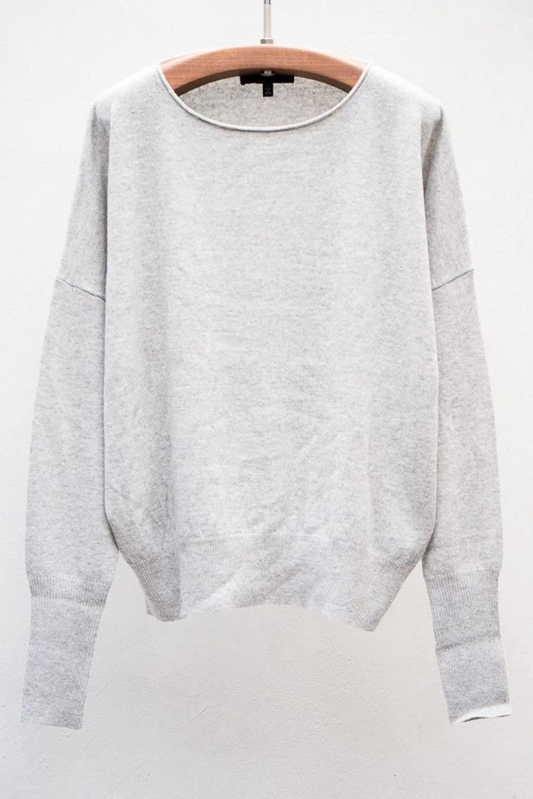 Oversized grey sweatshirt