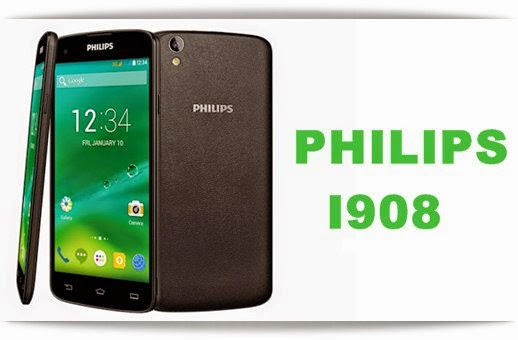 Philips I908: 5 inch,1.7 GHz Octa-core Android Phone Specs, Price