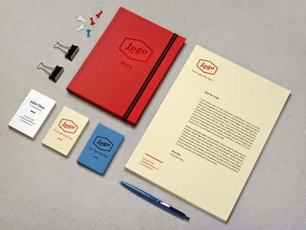 Download Branding Stationery Mockup Gratis - BRANDING / IDENTITY MOCKUP VOL 3
