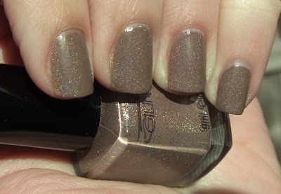glitter gal suede nail swatch