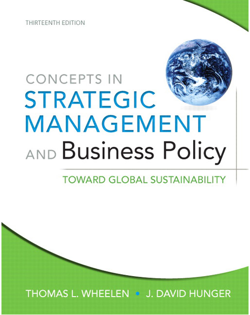 STRATEGIC MANAGEMENT AND BUSINESS POLICY 13TH EDITION PDF FREE DOWNLOAD
