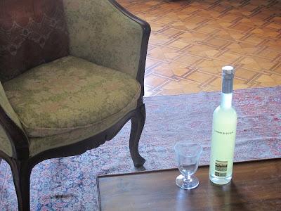 bottle of lemonchello