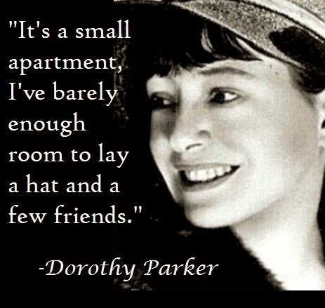 chrissi bliss loving dorothy parker and learning not to give a damn