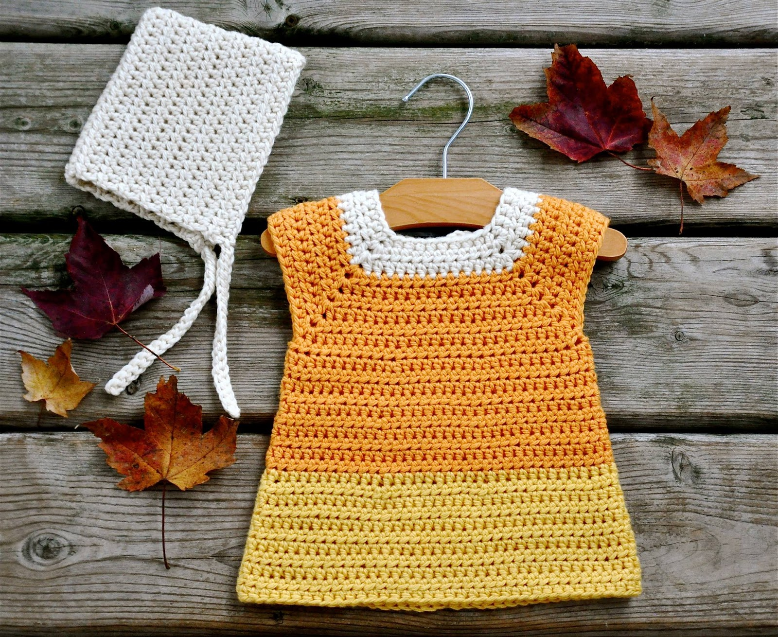Ball hank n skein free pattern candy corn crochet costume free pattern candy corn crochet costume bankloansurffo Image collections