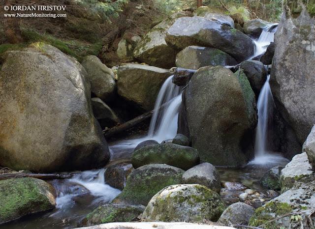 Waterfall photography in Bulgaria