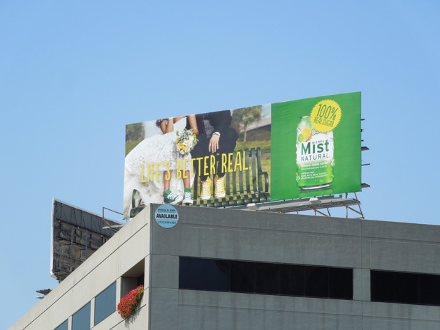 Sierra Mist Natural Wedding shoes billboard
