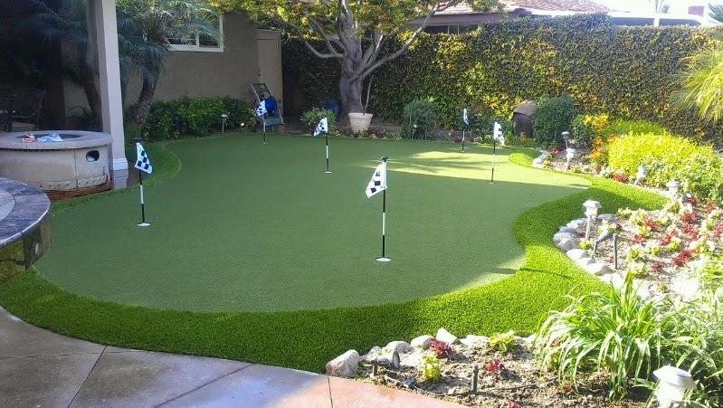 Backyard Golf Green Designs