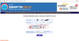 LULUS SBMPTN 2015 !