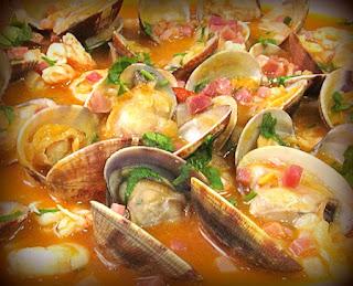 Cazuela de pescado y verduras