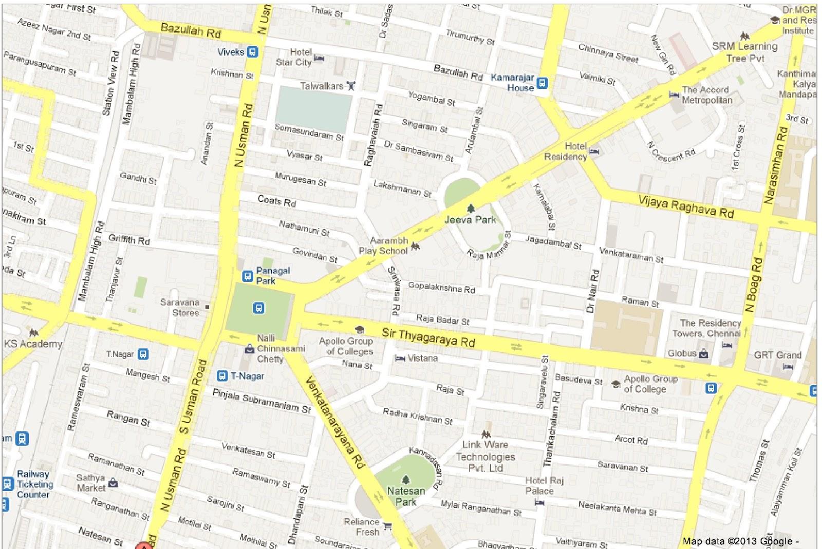 Usman Road T Nagar Name Reason Namma Area
