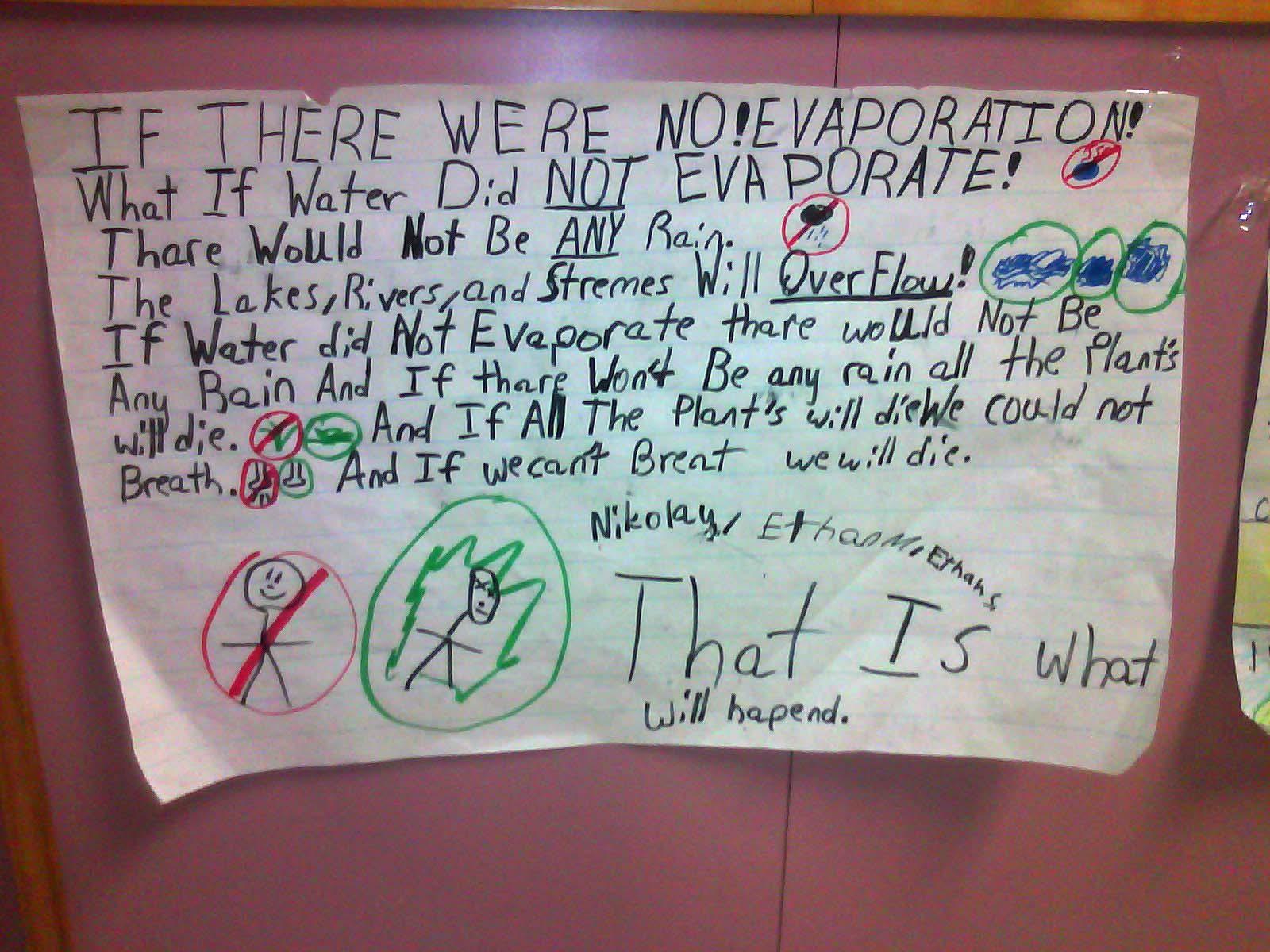 Evaporation For Kids Terrifying evaporation crisis