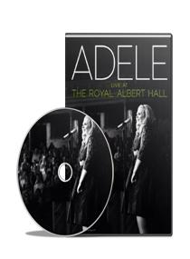DVD Adele: Live At The Royal Albert Hall