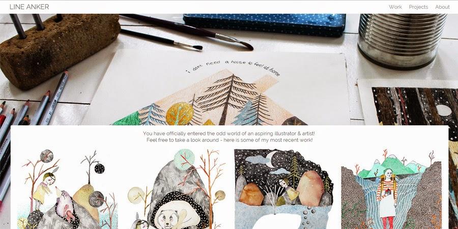 Line Anker - illustrator & artist