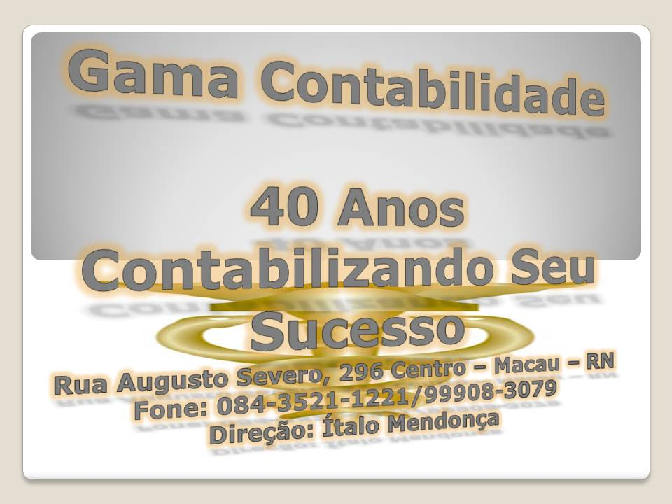 GAMA CONTABILIDADE