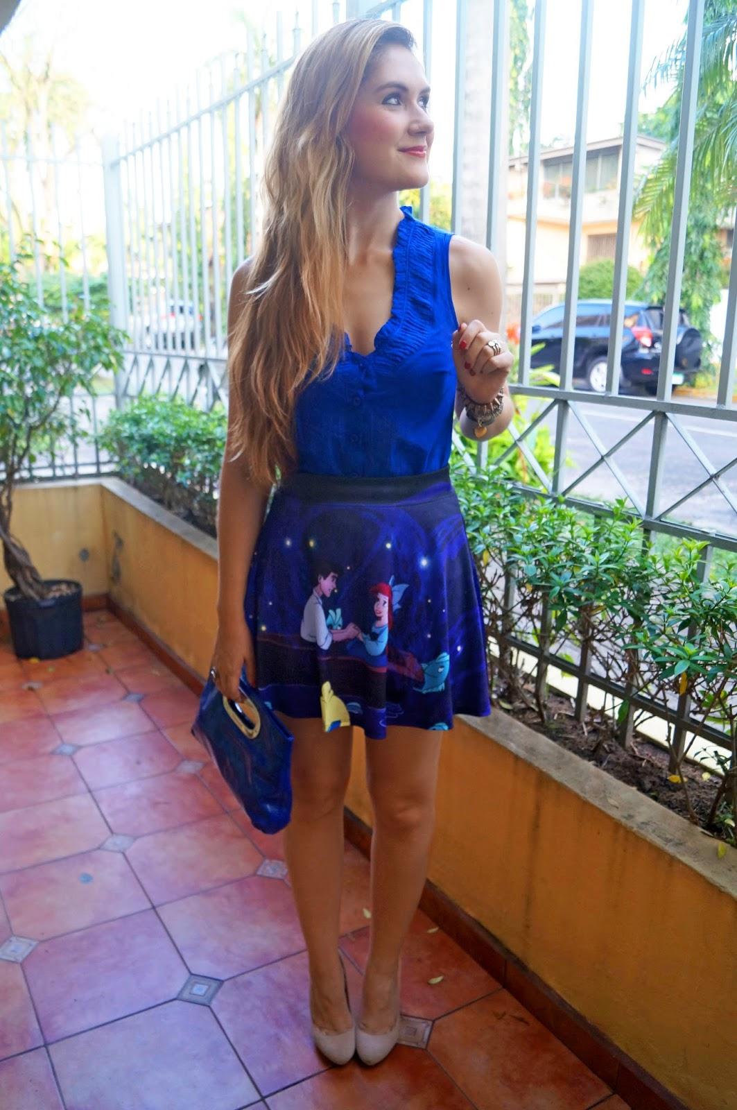 Cute Disney Mermaid Skirt