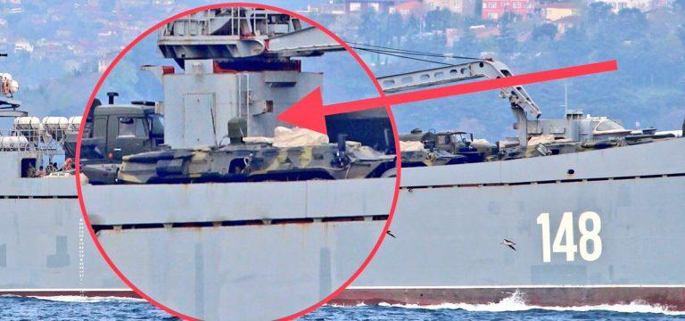 Τεράστιες ενισχύσεις στέλνει ο Β. Πούτιν στη Συρία – Πολεμικά σκάφη, τανκς, φορτηγά και τεθωρακισμένα – Δείτε εικόνες