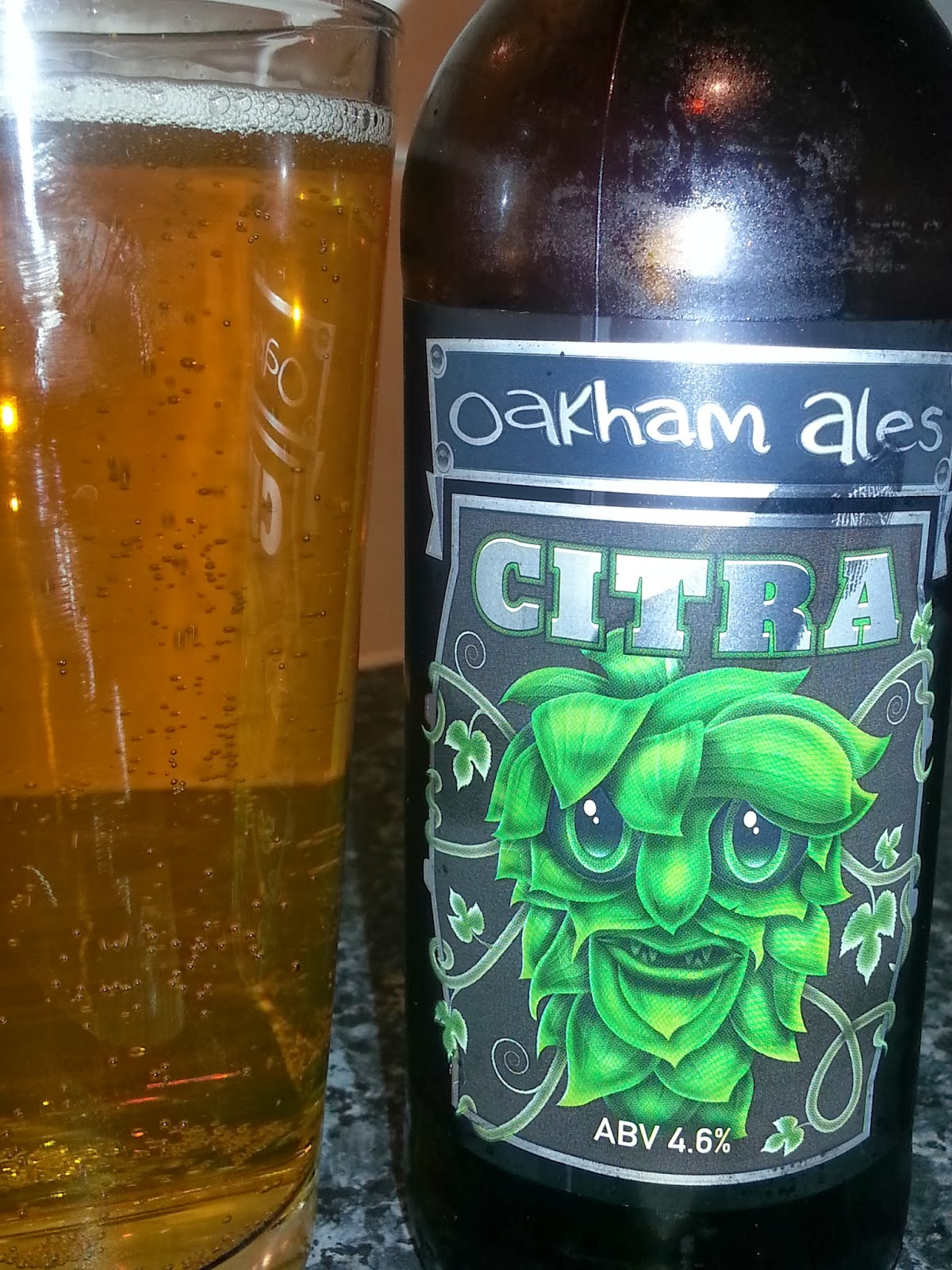 Beer Review #1 - Oakham Ales Citra - YouTube