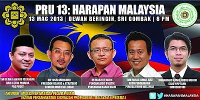 FORUM : PRU 13 : HARAPAN MALAYSIA