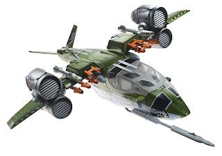 Hasbro GI Joe Retaliation Ghost Hawk vehicle