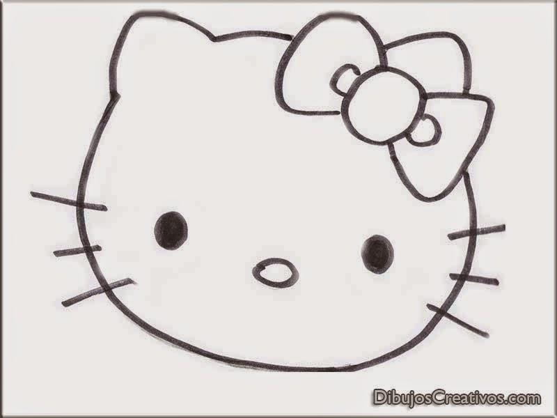 dibujos para pintar de HELLO KITTY