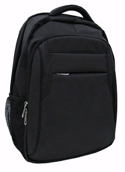 "CENTRUM LINK - ""Platinum Black Laptop Backpack"" - PC-1537"
