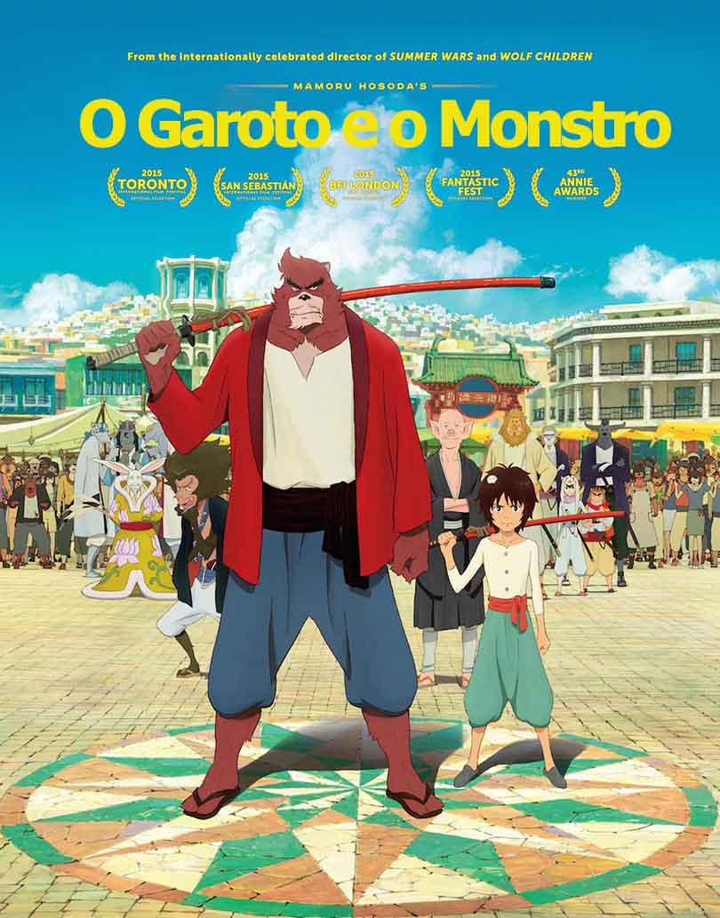 O Garoto e o Monstro Torrent - BluRay 720p e 1080p Dublado (2016)