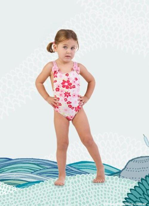 mallas para nenas verano 2014