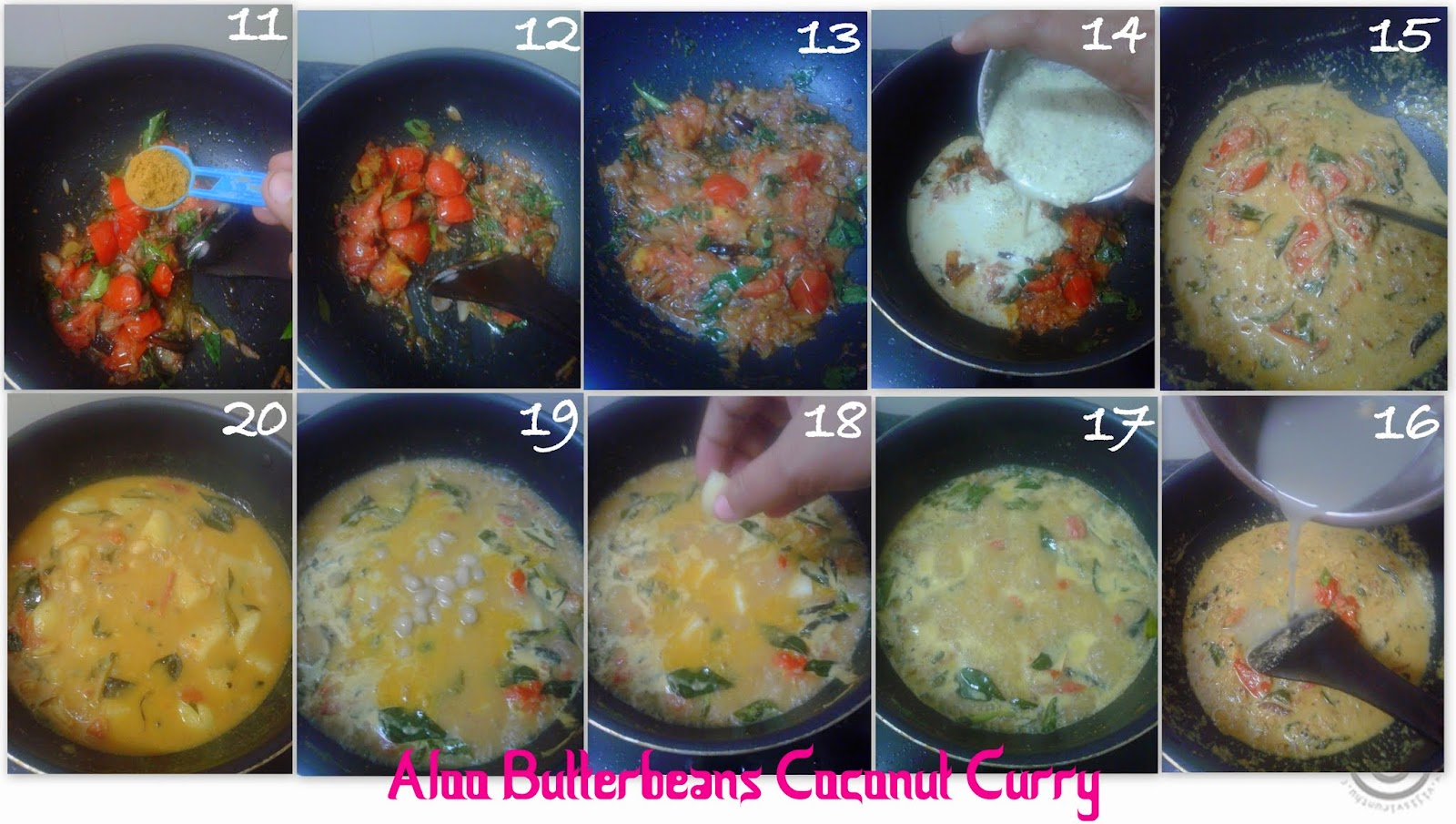 how to cook coconut beans