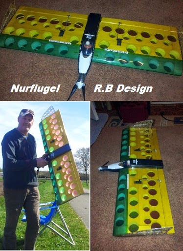 Nieuw eigenconsructie nurflugel