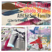 """Alfil Sagrada Familia (Barcelona):        Álbum gelli platte """"pPensamientos, emociones en voz alta"""""""