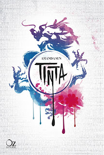 PORTADA: Tinta (Paper Gods #1) : Amanda Sun [Oz Editorial, Otoño 2013] LITERATURA JUVENIL