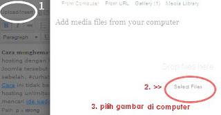 Cara Upload Image Wordpress