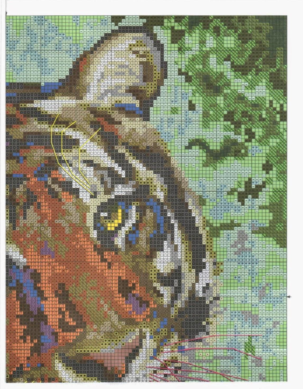 Вышивка тигренок схема скачать бесплатно фото 957
