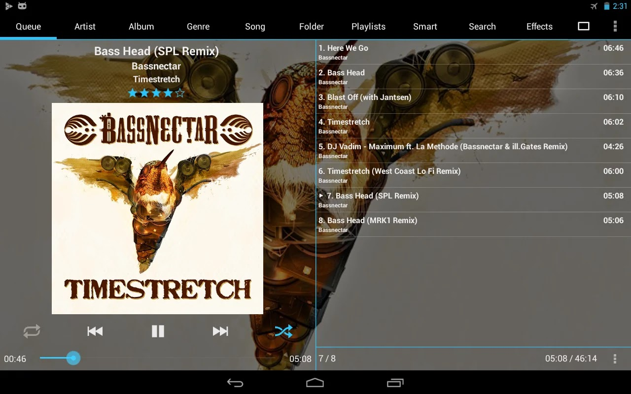 GoneMAD Music Player v1.5.0.4 + Unlocker v1.3