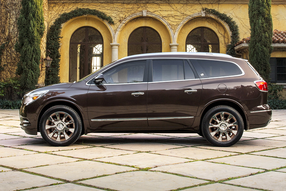 2017 Buick Enclave Leather >> Buick Gets Bronzy With 2016 Enclave Tuscan Edition