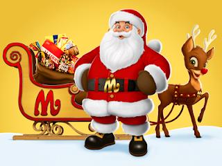 3d Christmas Santa Pictures