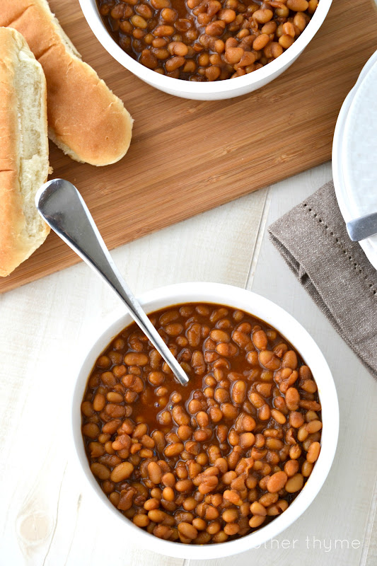 Baked beans mother thyme baked beans forumfinder Gallery