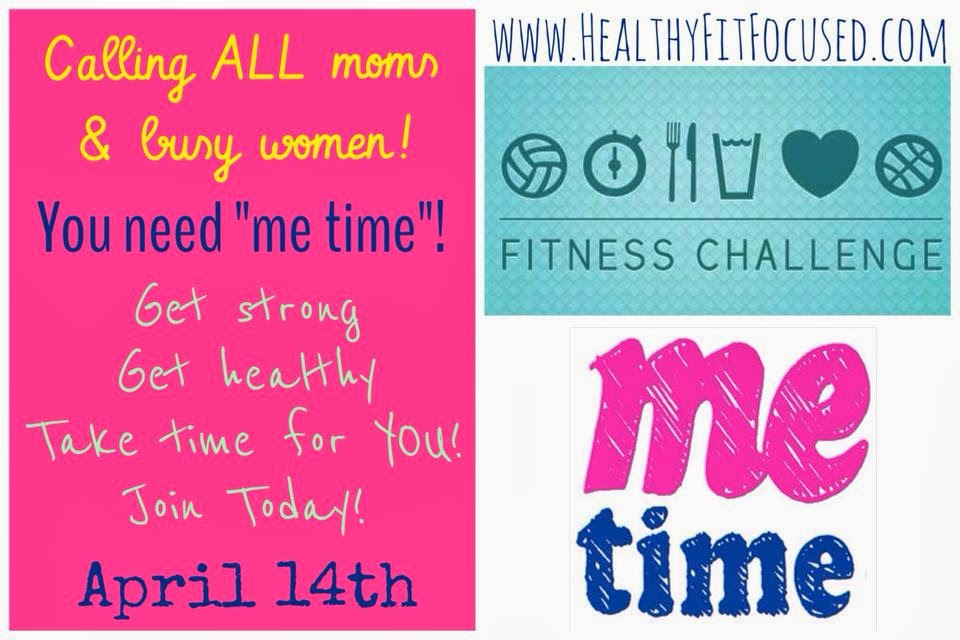 """Me Time"" for Moms challenge group!  www.HealthyFitFocused.com"