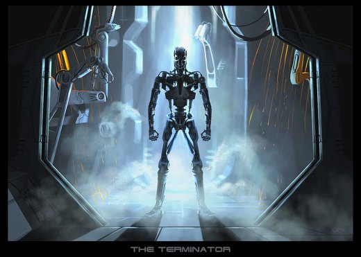 Terminator por highdarktemplar