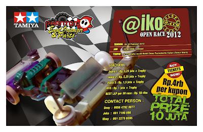 AIKO OPEN RACE 2012 SLOOPER, phantom parts