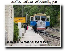 KALKA MOUNTAIN RAILWAY SHIMLA