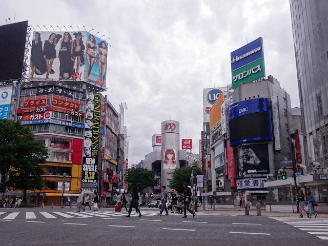 渋谷駅前スクランブル交差点,渋谷109〈著作権フリー画像〉
