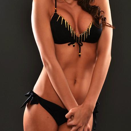 Elegáns fekete masnis bikini - Vivien Vance bikini kollekció 2013