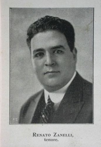 CHILEAN TENOR RENATO ZANELLI (1892 - 1935) CD