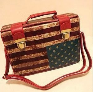 Retro American Flag Bag