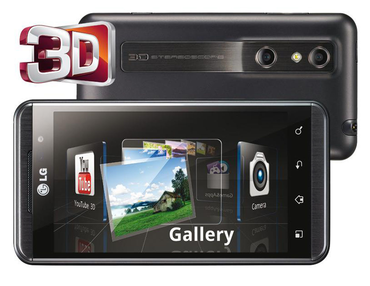 Lg optimus 3d review features and specifications