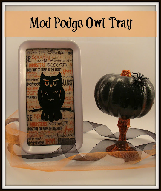 Halloween, Owl, Thrift Store